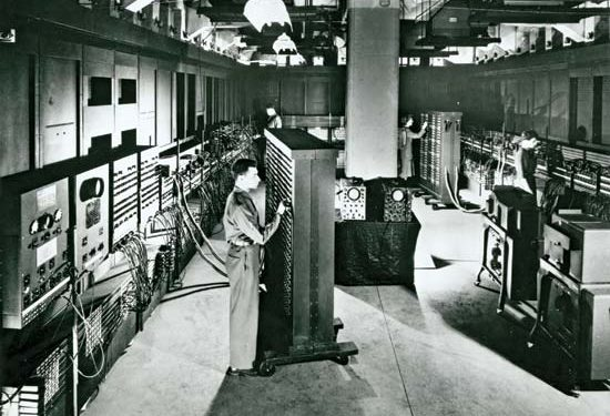 Fun Fact No 1 – The World's first electronic computer was HUGE!