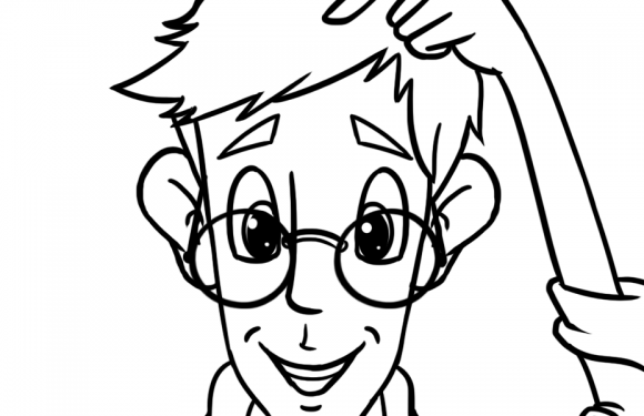Colour-in Peter